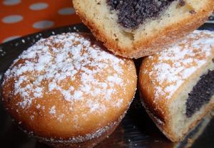 Makové (ořechové) muffiny