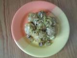 Masové kuličky na zelenině a žampiónech v troubě pečené recept ...