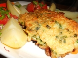 Losos v sýrovo-bylinkovém těstíčku recept