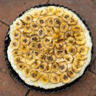 Kakaovo-banánový koláč recept