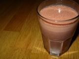 Čokoládovo jahodový smoothie recept