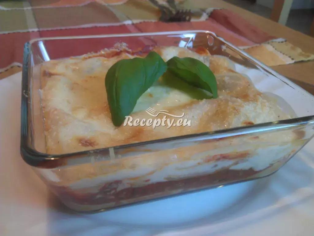 Lasagne se čtyřmi druhy sýrů recept  těstoviny