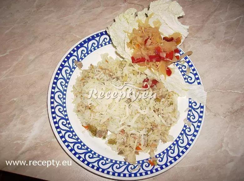 Rizoto s kuřecím masem a zeleninou recept  rýžové pokrmy ...