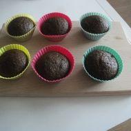 Kakaovo-banánové muffiny recept