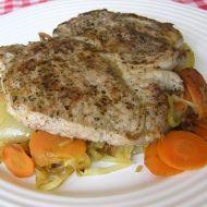 Vepřový steak s mrkví recept