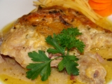 Kuře na česneku se smetanou zapečené sýrem recept  TopRecepty ...