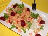 Kuskus s krevetami, nebo brynzou recept