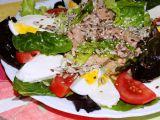 Tuňákový salátek s rukolou recept