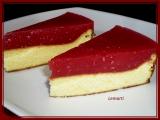Tvarohový koláč s jahodovo-malinovým pyré recept