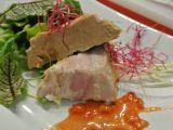 Terina z foie gras s pomerančovou redukcí recept