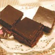 Kefírová buchta s kakaovým krémem recept