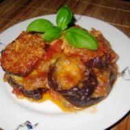 Zapečený lilek s mozzarellou recept