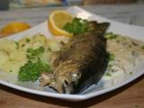Pstruh z Piemonte recept