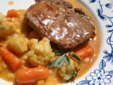 Vepřová pečeně na šalvěji se šťávou a křupavou zeleninou recept ...