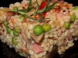 Kroupové rizoto recept