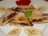 Banánovo-čokoládové toasty recept
