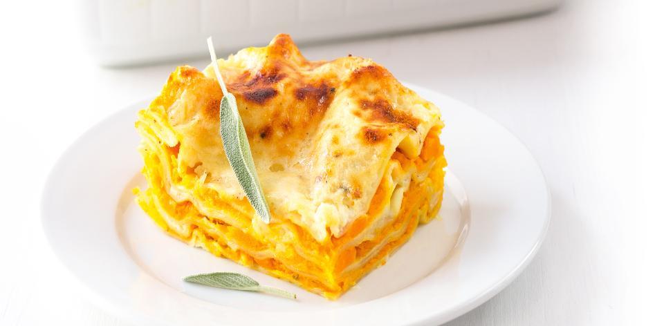 Dýňové lasagne