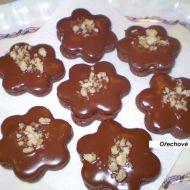 Plněné ořechové kytičky recept