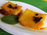 Sýrový sandwich se šalvějí z polenty recept