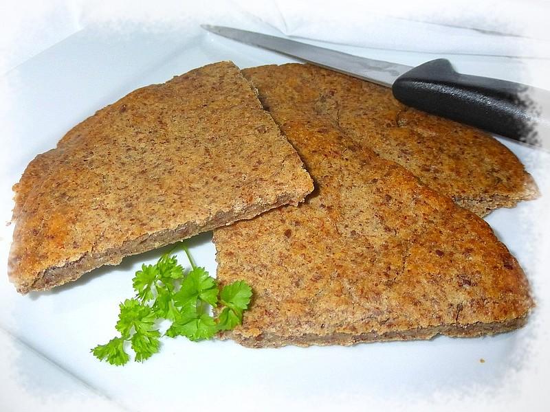 Celozrnné žitné placky recept