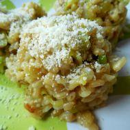 Pórkové rizoto s parmazánem recept