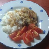 Pečené kotlety s rýží recept