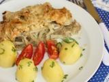 Rybí filé s celerem a jablky recept