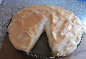 Francouzský citronový koláč  Tarte au citron
