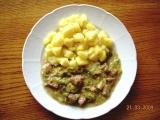 Vepřové nebo hovězí maso v kapustě recept