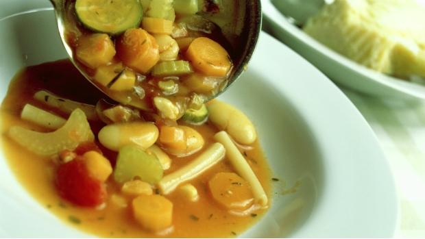 Minestrone s fazolemi