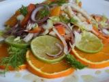 Salát z fenyklu a pomeranče s medovo  limetkovou zálivkou recept ...