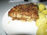 Zapečené mleté maso s květákem recept