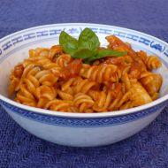Rajčatová omáčka na těstoviny se slaninou recept