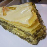 Špenátové lasagne se sýrem recept