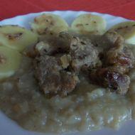 Vepřový vrabec se zelím a bramborovým knedlíkem recept