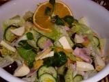 Tropický salát recept