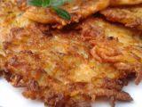 Bramborové placky se sýrem a pórkem recept