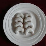 Vanilkové rohlíčky vánoční recept