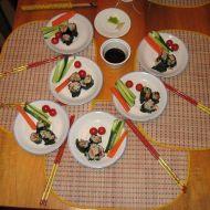 Sushi z českých rybníků recept