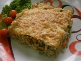 Zapečené těstovinové kuřecí rizoto recept