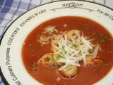 Rajská polévka III. recept