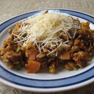 Rizoto s kuřecím masem a paprikášem recept
