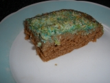Buchta rafaelo s barevným kokosem recept