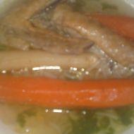 Sváteční nedělní polévka z perličky recept
