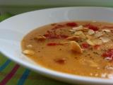 Marocká ostrá květáková polévka s mandlemi recept
