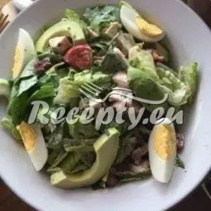 Salát z avokáda, manga a pomeranče recept  saláty