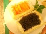 Listové bedýnky s ovocem recept