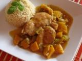 Dušené kuřecí s dýní a řapíkatým celerem recept