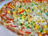 Květákovo  celerová pizza bez mouky recept