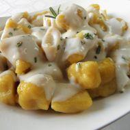 Dýňovo-bramborové noky s krémovou omáčkou recept